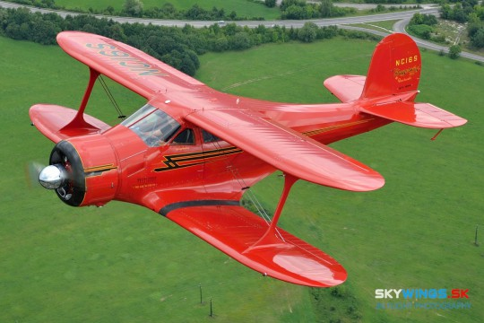 Beechcraft D17S Staggerwing, NC16S