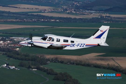 Piper PA-34 OK-FZZ
