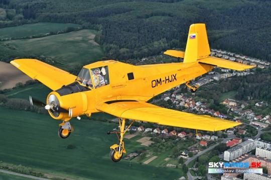 Z-37A Čmelák OM-HJX